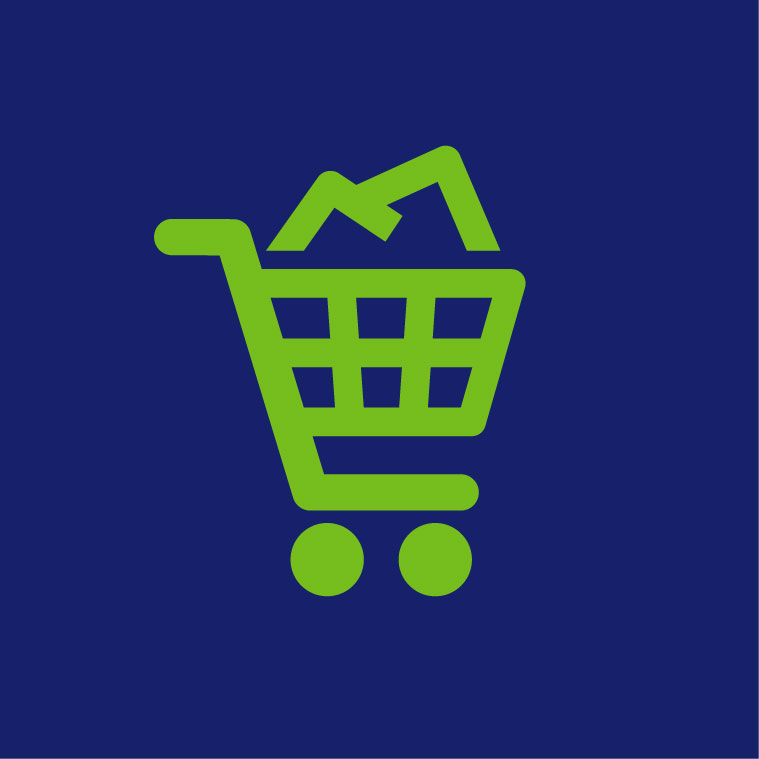 Grocery Stores Icon